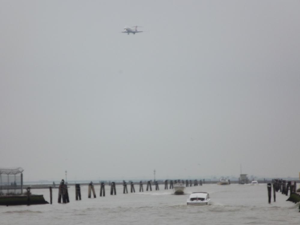 Arrival in Venice 3/19/13
