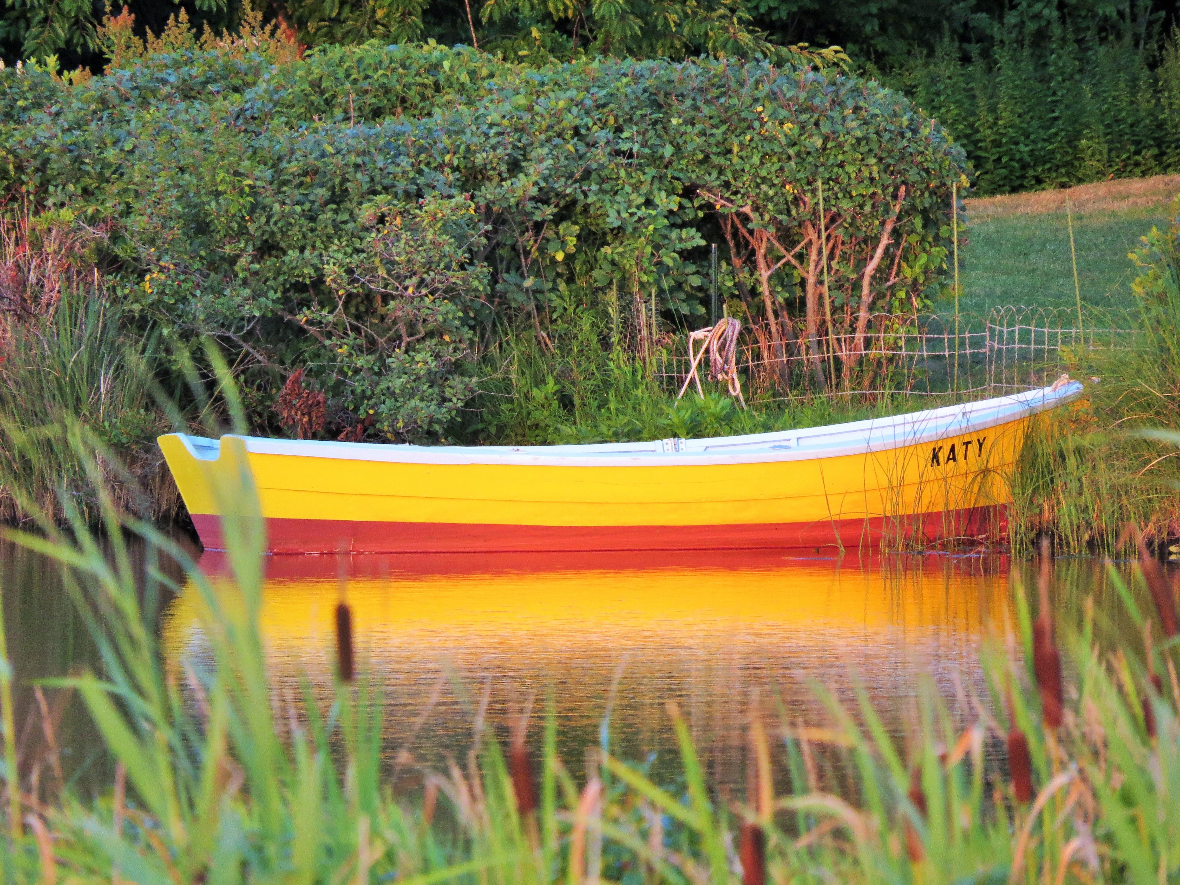 boating...